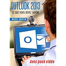 Outlook 2013: Avec pack vidéo