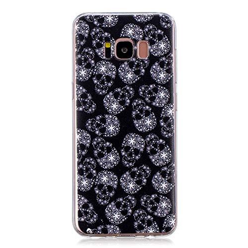 NEXCURIO Samsung Galaxy S8 / G950 Hülle Silikon, Schutz Handy Hülle Handytasche HandyHülle Stoßfest Kratzfest Etui Schale Schutzhülle Weich Bumper Case Cover für Samsung Galaxy S8 - NEHEX15905#1