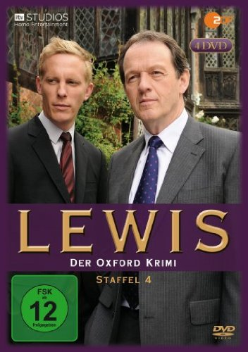 Lewis - Der Oxford Krimi: Staffel 4 [4 DVDs]