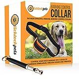 TickTockPets Hunde-Erziehungshalsband - Anti-Bell-Halsband ohne Elektroschock - Extra Hundepfeife