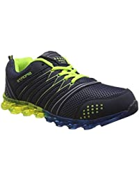 Tapps Men's Blue P Green Walking Shoes - 8