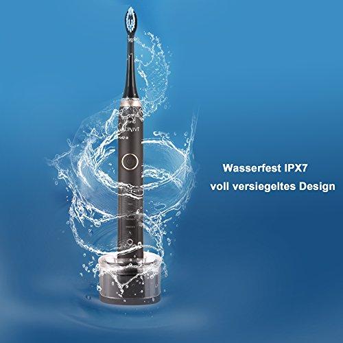 ACEVIVI S8 Elektrische Zahnbürste – Schallzahnbürste - 4