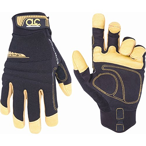 Elite Wahl Kunys Flex Grip Arbeiter Handschuhe Extra Large [1Paar]–Min 3Jahre Garantie