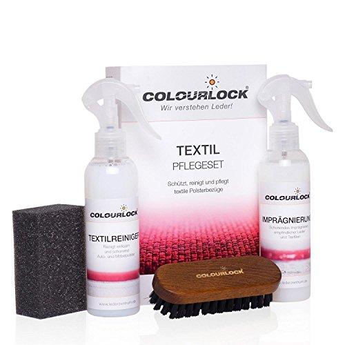 COLOURLOCK Textil-Pflegeset, reinigt und imprägniert schonend Alcantara,Microfaser und Naturfaser