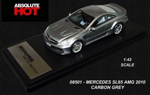 Mercedes-Benz SL65 AMG Série Noire (2010) en Carbone Gris (1:43 echelle) Voiture Miniature | Sale Online