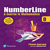 Numberline: Mathematics Books by Pearson for ICSE Class 8