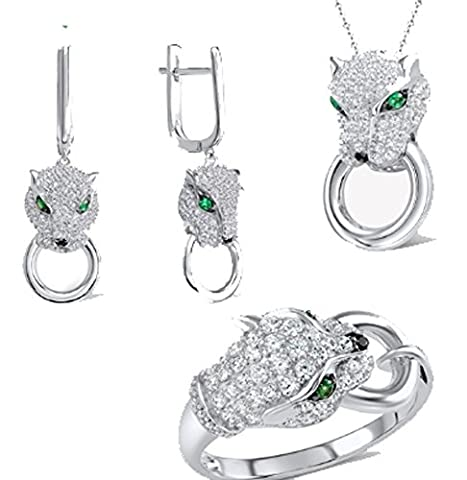 SaySure - Jewelry Sets Leopard Gem Stone Spinel (SIZE : 5)
