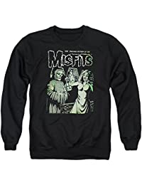 Misfits Rock Band Shocking Return of The Misfits Cover Adult Crewneck Sweatshirt