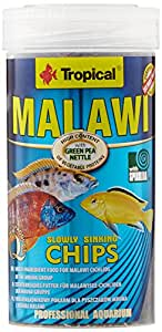 Tropical Malawi Mbuna Chips Special for Malawi slowly sinking - Multi-ingredient food for daily feeding 250ml/130g