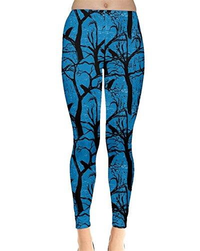CowCow - Legging - Femme vert vert clair bleu ciel