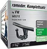 Rameder Komplettsatz, Anhängerkupplung starr + 13pol Elektrik für VW Golf II (113007-00500-1)