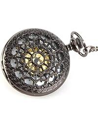 YESURPRISE 046992–Taschenuhr, Armband in Edelstahl