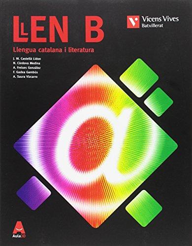 LLEN B (LLENGUA CATALANA I LIT BATX) AULA 3D: 000001 - 9788468231921