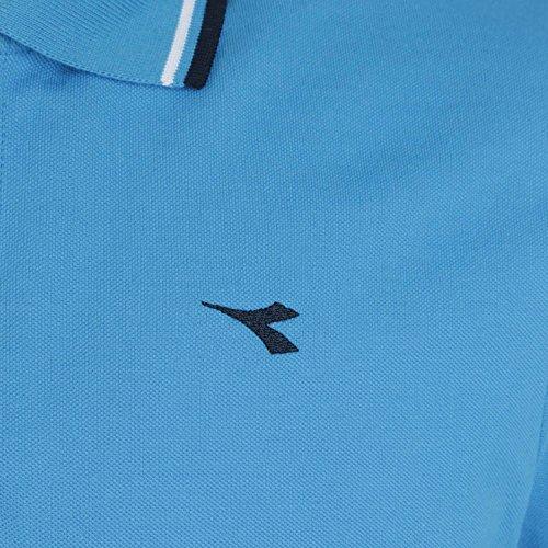 Diadora Jungen Poloshirt AZZURRO DIVA