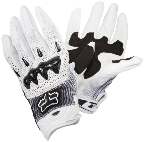 Gloves Fox Bomber White/Black L