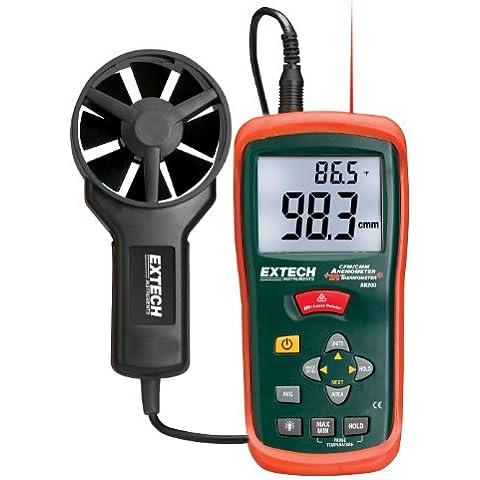 Extech Instruments AN200 Mini termo-anemómetro con termómetro por infrarrojos