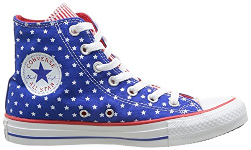 Converse Chuck Taylor All Star Femme Plus Star Hi, Baskets mode femme Bleu (53 Bleu/Blc/Rge)