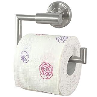 Serie de baño Ambiente – Porta rollos papel higienico | acero inoxidable | montado en la pared