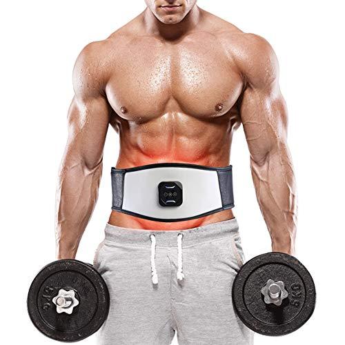 Cintura di massaggio di intensità regolabile muscle abdominal stomaco massa corporea relax