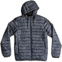 Quiksilver Scaly Chaqueta, Hombre, Gris (Iron Gate Eastern Ways KZM6), Small (Tamaño del Fabricante:S)