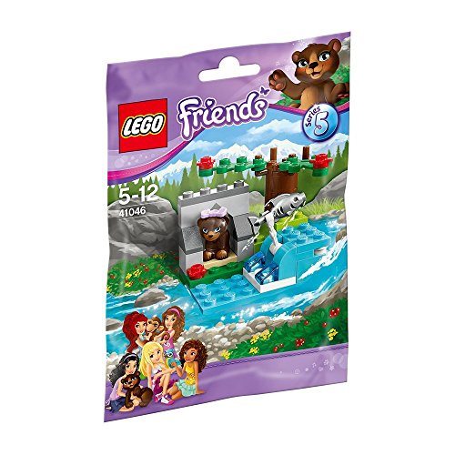 LEGO Friends 41046 - Braunbär am Fluss