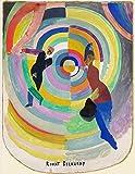 Berkin Arts Robert Delaunay Giclée Papier d'art Impression Ouvrages d'art La Peinture Affiche La Reproduction(Drame Politique)