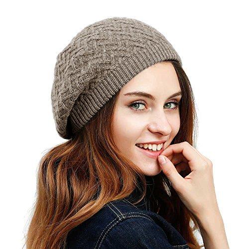 Gorro mujer, marca July Sheep, estilo beret francés