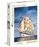 Clementoni 31998.5 - Puzzle Kollektion - große Segelschiff, 1500 Teile