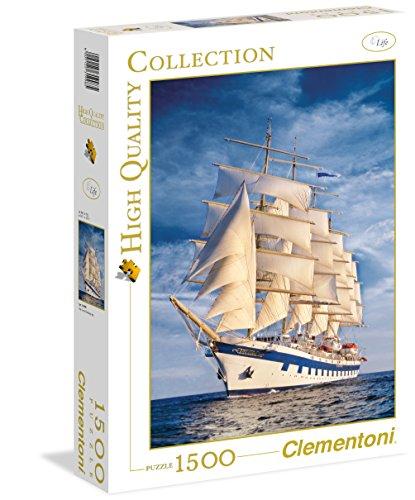 Clementoni - 31998 - Puzzle Collezione Alta qualità The Great Sailingship, 1500 Pezzi