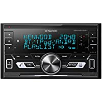 Kenwood Electronics DPX-M3100BT 50W Bluetooth Negro Receptor Multimedia para Coche - Radio para Coche (FM,LW,MW, 87,5-108 MHz, MOSFET, 3 líneas, LCD, Negro)