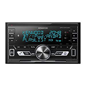 Kenwood DPXM3100BT 2-Din Digitial Media Receiver with Built-In Bluetooth