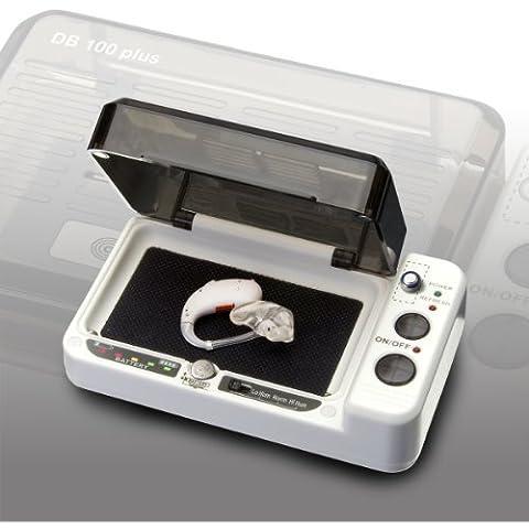Audioline DRY BOX DB100plus - Scatola essiccatrice con tester per batterie