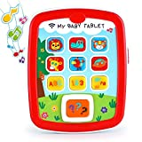 Toyshine My Baby Tablet Mobile Tab with Music Lights ABC Numbers Colors Learning