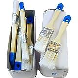 rotix 911612X Pennello piatto 35mm Aqua di pennelli per vernice anche per LASUR e beize
