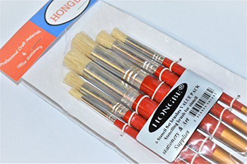 6-hongbe-stencil-set-brushes-value-pack-stenciling-brush-for-stencil