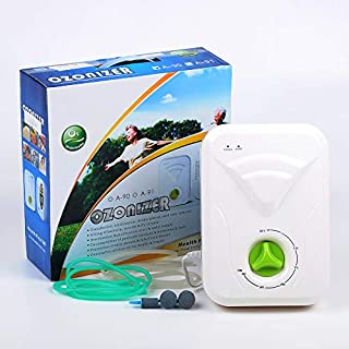Ozone Generator Machine, Mini Water Air Odor Purifier, 400 mg/h, 30 Min, Rotary Timer, Portable And Lightweight Deodorizer Sterilizer, For Adult Baby Home Kitchen Vegetable Fruit Travel Hotel Room