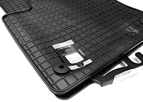 NEU! Gummimatten VW Sharan 7N R-Line Fußmatten Gummi Original Qualität Auto Allwetter 4-teilig schwarz ab 09/2010