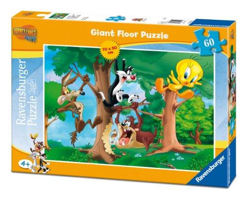 Ravensburger 05415 - Looney Tunes, Puzzle 60 pezzi Giant
