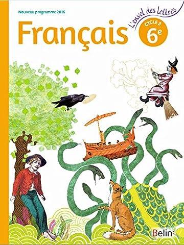 Français 6ème Cycle 3 : Livre de l'élève - Format