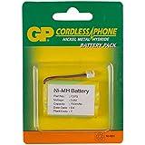 GP Batteries NiMH rechargeable batteries T373 - Batería/Pila recargable (700 mAh, DECT telephone, Níquel metal hidruro, 3.1 cm, 4.6 cm, 1 cm) Verde, Amarillo