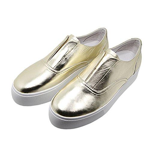 AIJIAER Autunno della molla comode scarpe da ginnastica morbida pelle, unisex 2050