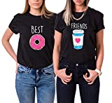Best La hermana grande camisetas - Mejores Amigas Camiseta T-Shirt Best Friend Dibujos Animados Review