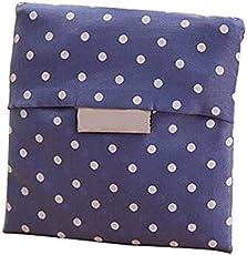 Fligatto Polyester; Wiederverwendbare Einkaufstasche Faltbare Outdoor Taschen Faltbare Einkaufstasche mit Print
