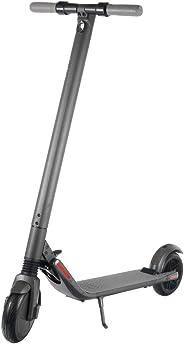 Ninebot by Segway ES2 Monopattino Elettrico Pieghevole, Velocità Massima 25km/h, Autonomia 25km, 55 x 27 x 41 cm, Grigio scuro (Dark grey)