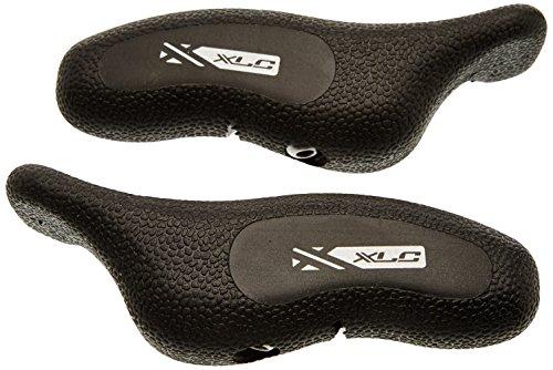 XLC Unisex- Erwachsene Zubehör Comp Bar-Ends BE-A08, Schwarz, One Size