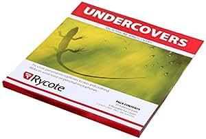 Rycote 065102 Undercovers Fixations Micro pastilles Autocollantes et en tissu gris (pack de 30)
