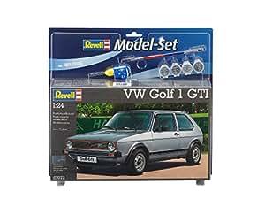 Revell - 67072 - Maquette De Voiture - Vw Golf 1 Gti - 110 Pièces - Echelle 1/24