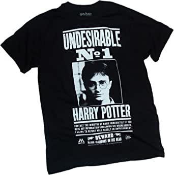 Undesirable Number 1 -- Harry Potter and the Deathly Hallows T-Shirt, XX-Large