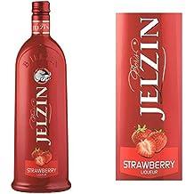 Liqueur - JELZIN Liqueur de Vodka Fraise 16,6°