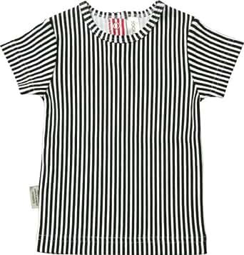 SOOKIUnisex Baby Lifestyle Esty Stripe Short Sleeve Tee Black Size 1 12-18 Months
